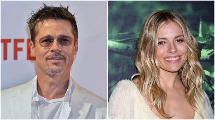 Brad Pitt & Sienna Miller Spotted,