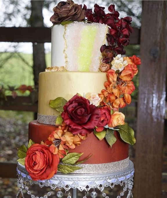Fall Wedding Cakes.11 Fall Wedding Cakes That Have Us Drooling Sheknows