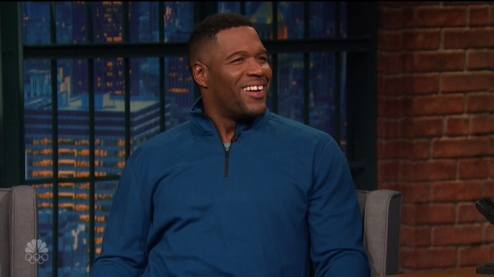 Is Michael Strahan feeling some Live!
