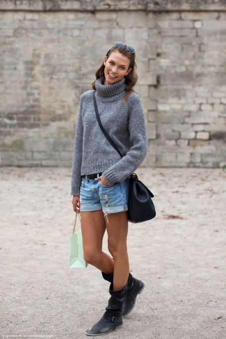 Bloggers Show You How to Wear Shorts for Fall : Stockholm Streetstyle