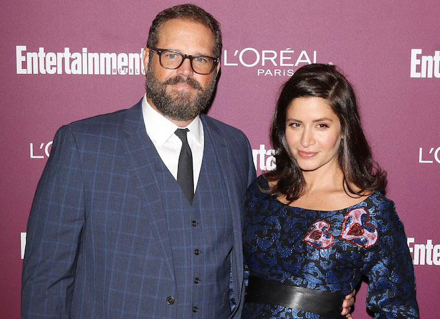 David Denman and Mercedes Masohn arrive at Entertainment Weekly's 2017 Pre-Emmy Party