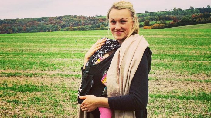 Travel blogger spends her maternity leave