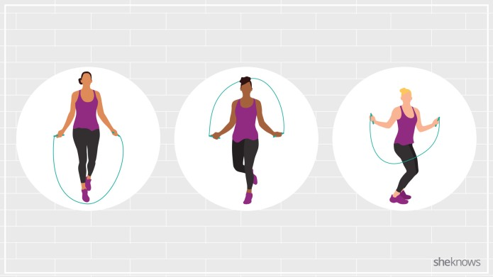 10 jump rope exercises because cardio