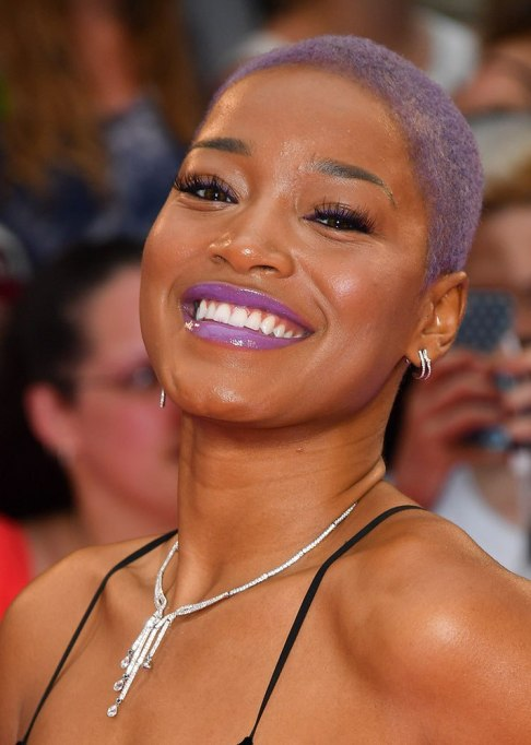 Best Celebrity Hair Transformations of 2017: Keke Palmer's buzzed off hair
