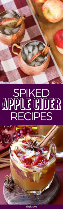 Pin it! Spiked Apple Cider Recipes