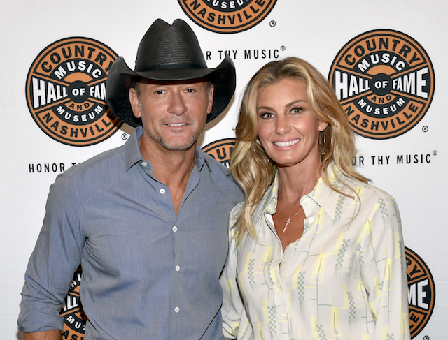 Tim McGraw & Faith Hill attend the All Access program at the Country Music Hall of Fame