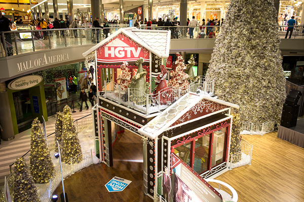 Hgtv Holiday House At The Mall Of America
