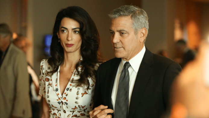 George & Amal Clooney's Twins Are