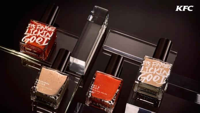 KFC's edible nail polish begs the