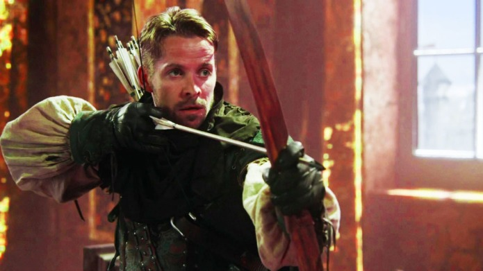 You know Robin's return to OUAT