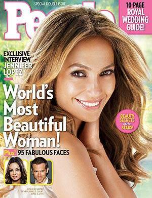 Jennifer Lopez dishes beauty in People