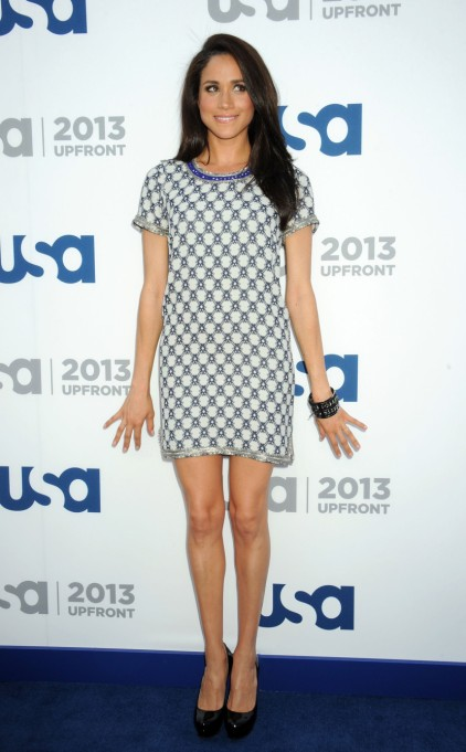 Meghan Markle's Most Fashionable Outfits | Attending the USA Network 2013 Upfront event