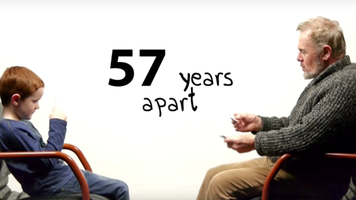 Heartwarming video shows how age changes