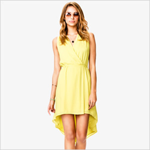 high low forever 21 dress