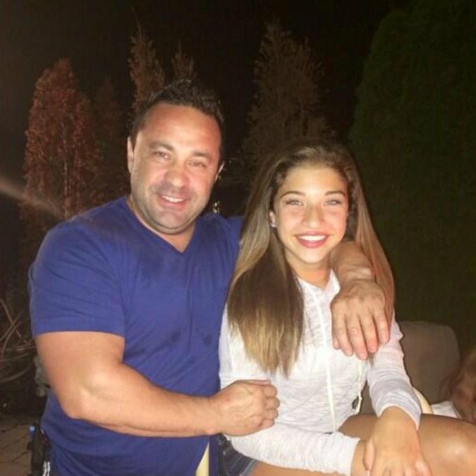 Gia and Joe Giudice