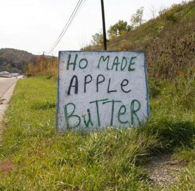 Ho made apple butter