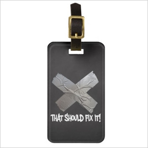 silly travel tag