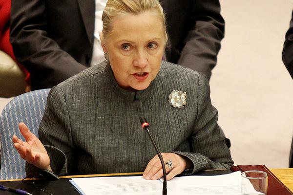 Hillary Clinton rejects Jason Segel's proposal