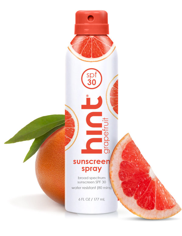 hint grapefruit sunscreen