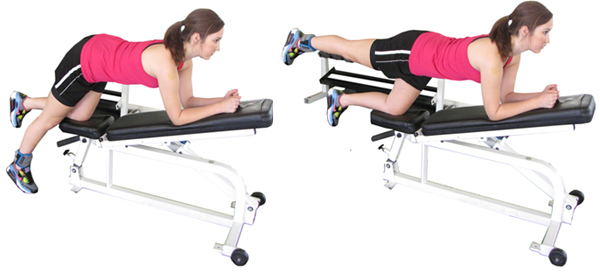 Unilateral Hip Extension
