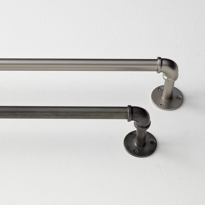pipe drapery rods