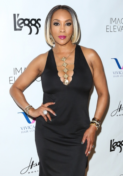 Vivica A. Fox attends the release party for her new book 'Every Day I'm Hustling'