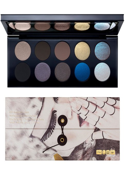 Metallic Makeup Finds for Fall: Pat McGrath Labs Mothership I Eyeshadow Palette in Subliminal | Fall Makeup Trends 2017