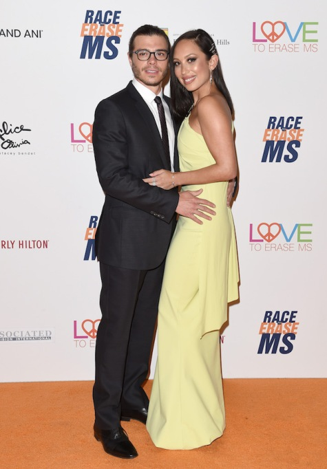 Matthew Lawrence & Cheryl Burke arrive at the 25th Annual Race to Erase MS Gala