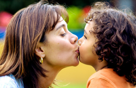 Why I kiss my kids on
