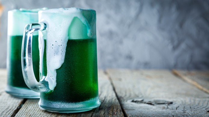 How to Make Green Beer &