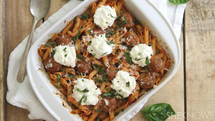 Spaghetti and meatballs get a makeover