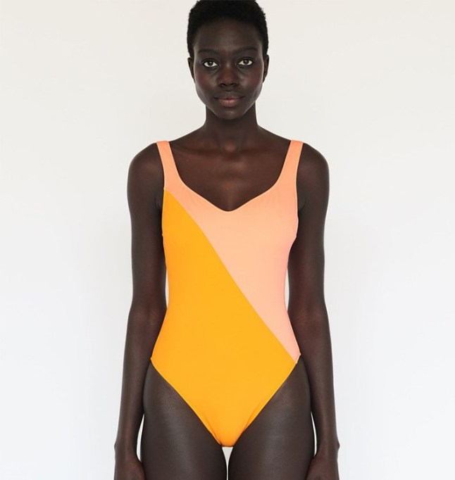 What to Wear to Every Summer BBQ: Araks Harley One Piece Cantaloupe Marigold | Summer Fashion 2017