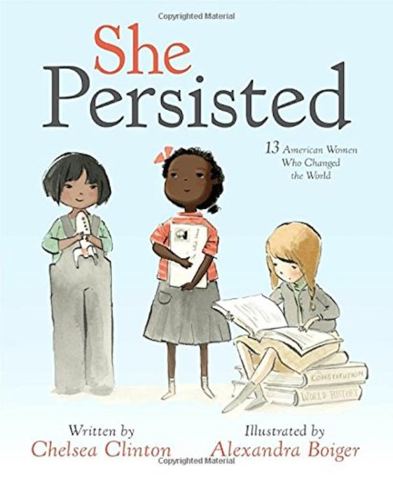 The Best Kids' Books for Baby Feminists: She Persisted