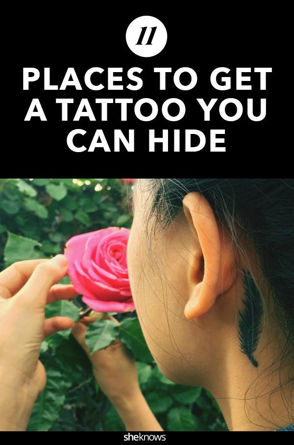 11 Genius Ideas for Secret Tattoos