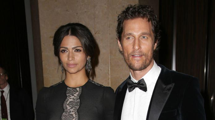 Matthew McConaughey already has his eye