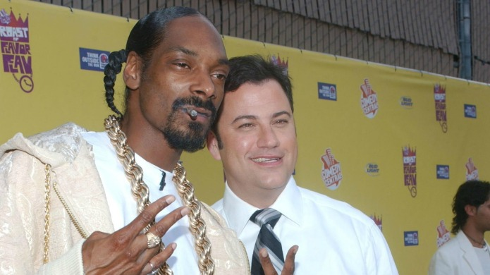 Snoop Dogg and Jimmy Kimmel make