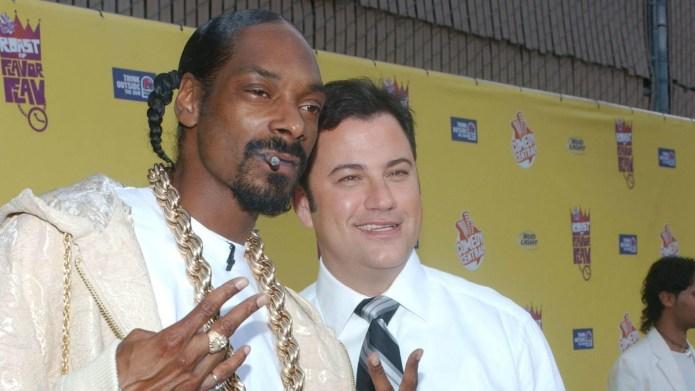Snoop Dogg and Jimmy Kimmel make
