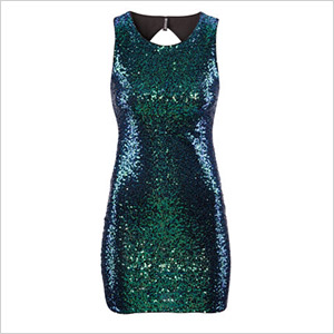 sequin h&m party dress