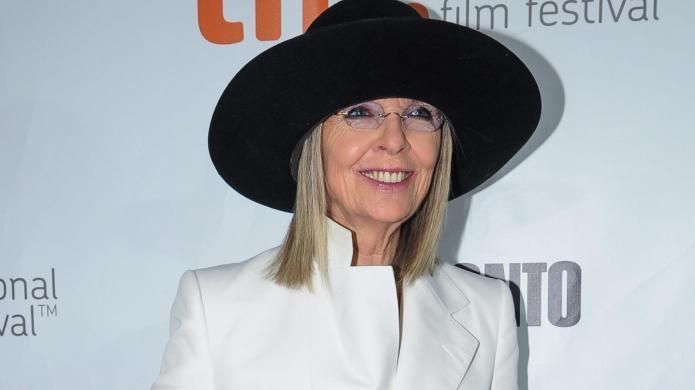Diane Keaton declares she has fallen