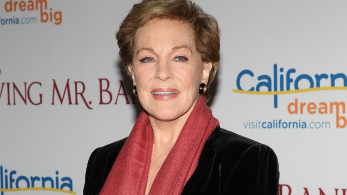 Julie Andrews is down for a