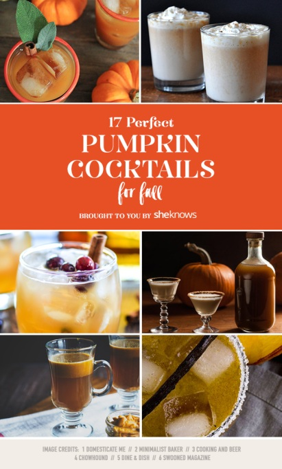 17 Pumpkin cocktails that prove drinking squash is way better than eating it