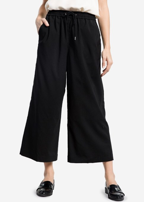 The Best Stores to Shop for Fashion Basics: Grana Women's Worsted Wool Culottes | Summer style 2017