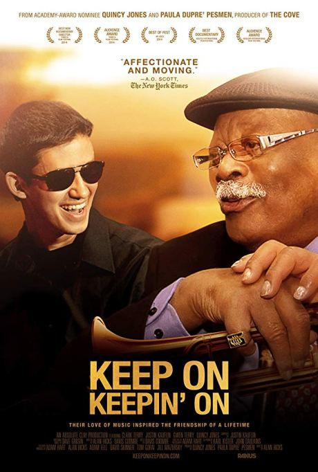 Movie poster from Keep on Keepin' on