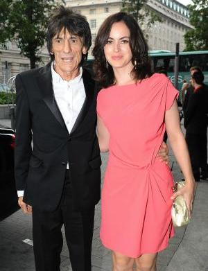 Rolling Stone Ronnie Wood engaged to