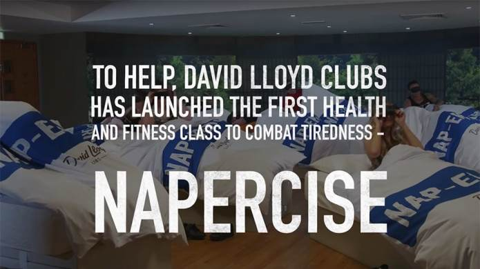 'Napercise' Sleeping Classes for Adults Is