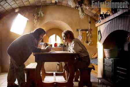Peter Jackson directs The Hobbit