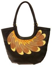 Vanessa Boulton Feather Hobo Bag