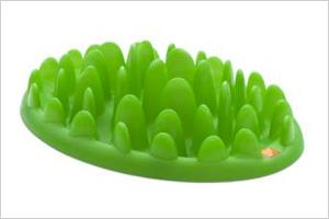 Green Interactive Feeder.
