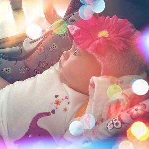 Holly Madison's daughter Rainbow