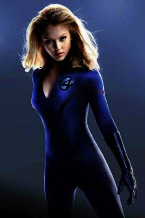 The Fantastic Four's Jessica Alba